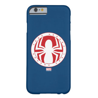 Spider-Man Team Heroes Emblem Barely There iPhone 6 Case