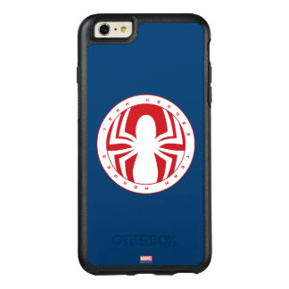 Spider-Man Team Heroes Emblem OtterBox iPhone 6/6s Plus Case