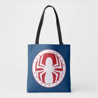 Spider-Man Team Heroes Emblem Tote Bag