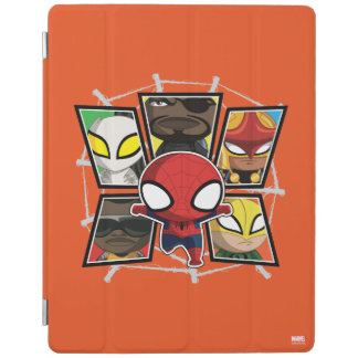 Spider-Man Team Heroes Mini Group iPad Cover