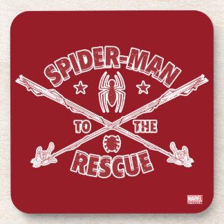 Spider-Man To The Rescue Beverage Coaster
