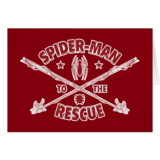 Spider-Man To The Rescue Card