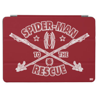 Spider-Man To The Rescue iPad Air Cover