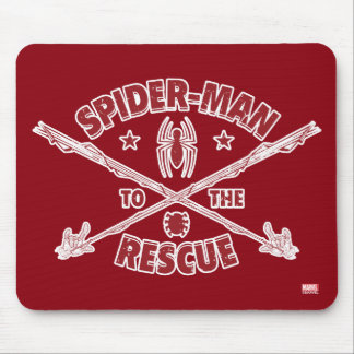 Spider-Man To The Rescue Mouse Pad