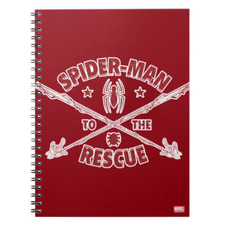 Spider-Man To The Rescue Notebook