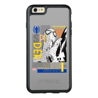 Spider-Man Ultimate Bauhaus Collage OtterBox iPhone 6/6s Plus Case