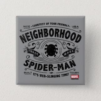 Spider-Man Victorian Trademark 15 Cm Square Badge