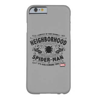 Spider-Man Victorian Trademark Barely There iPhone 6 Case
