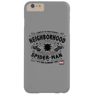 Spider-Man Victorian Trademark Barely There iPhone 6 Plus Case