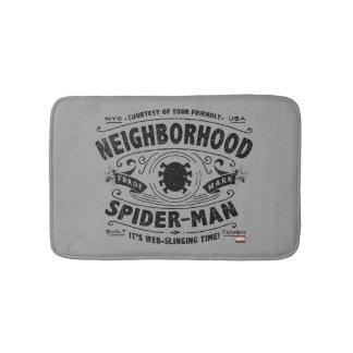 Spider-Man Victorian Trademark Bath Mat