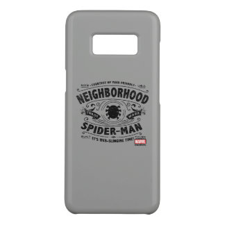 Spider-Man Victorian Trademark Case-Mate Samsung Galaxy S8 Case