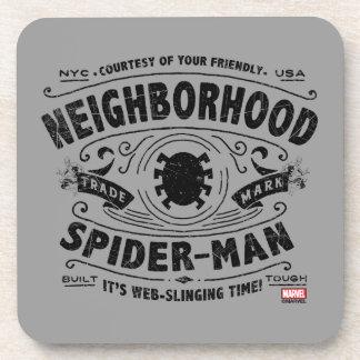 Spider-Man Victorian Trademark Coaster