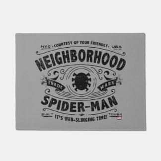 Spider-Man Victorian Trademark Doormat