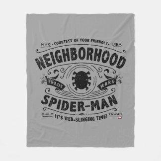 Spider-Man Victorian Trademark Fleece Blanket