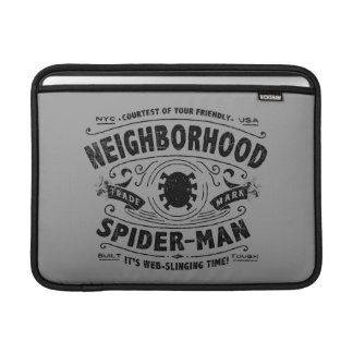 Spider-Man Victorian Trademark MacBook Sleeve