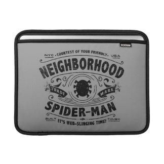 Spider-Man Victorian Trademark MacBook Sleeve