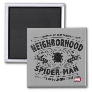 Spider-Man Victorian Trademark Magnet