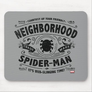 Spider-Man Victorian Trademark Mouse Pad