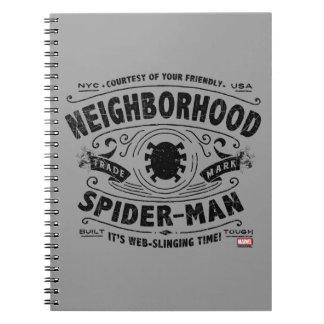 Spider-Man Victorian Trademark Notebook