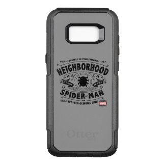 Spider-Man Victorian Trademark OtterBox Commuter Samsung Galaxy S8+ Case
