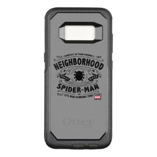Spider-Man Victorian Trademark OtterBox Commuter Samsung Galaxy S8 Case