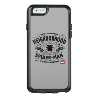 Spider-Man Victorian Trademark OtterBox iPhone 6/6s Case