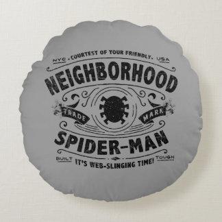 Spider-Man Victorian Trademark Round Cushion