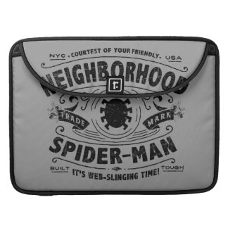 Spider-Man Victorian Trademark Sleeve For MacBooks