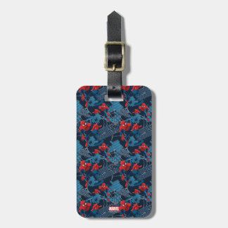 Spider-Man Wall Crawler Pattern Bag Tag