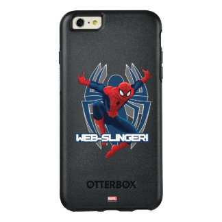Spider-Man Web-Slinger Graphic OtterBox iPhone 6/6s Plus Case