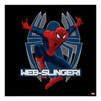 Spider-Man Web-Slinger Graphic Poster