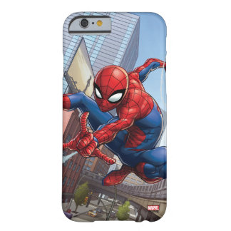 Spider-Man Web Slinging By Train Barely There iPhone 6 Case