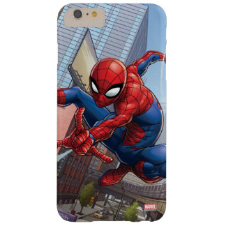 Spider-Man Web Slinging By Train Barely There iPhone 6 Plus Case