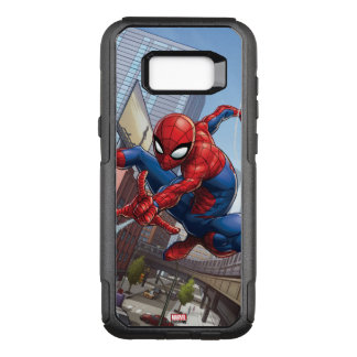 Spider-Man Web Slinging By Train OtterBox Commuter Samsung Galaxy S8+ Case