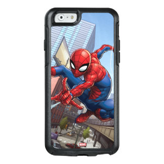 Spider-Man Web Slinging By Train OtterBox iPhone 6/6s Case