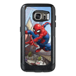 Spider-Man Web Slinging By Train OtterBox Samsung Galaxy S7 Case