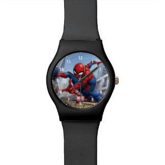 Spider-Man Web Slinging By Train Watch