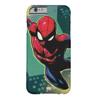 Spider-Man Web Slinging From Above Barely There iPhone 6 Case