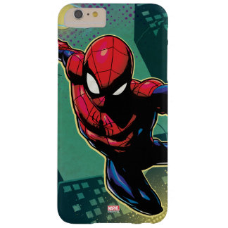 Spider-Man Web Slinging From Above Barely There iPhone 6 Plus Case