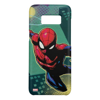 Spider-Man Web Slinging From Above Case-Mate Samsung Galaxy S8 Case