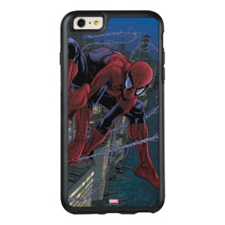 Spider-Man Web Slinging From Daily Bugle OtterBox iPhone 6/6s Plus Case