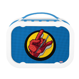 Spider-Man Web Slinging Hand Icon Lunchboxes