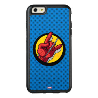 Spider-Man Web Slinging Hand Icon OtterBox iPhone 6/6s Plus Case