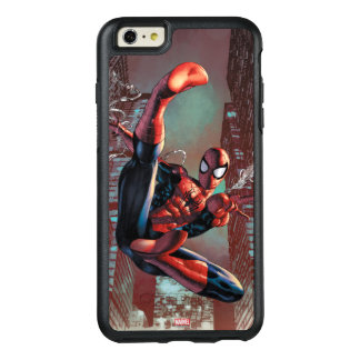 Spider-Man Web Slinging In City Marker Drawing OtterBox iPhone 6/6s Plus Case