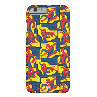 Spider-Man Web Slinging Panel Pattern Barely There iPhone 6 Case