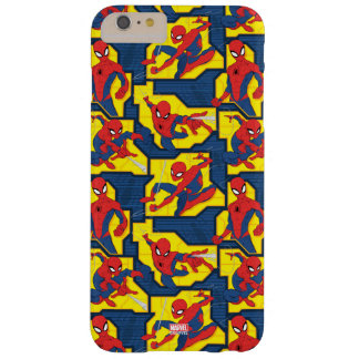 Spider-Man Web Slinging Panel Pattern Barely There iPhone 6 Plus Case