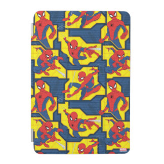 Spider-Man Web Slinging Panel Pattern iPad Mini Cover