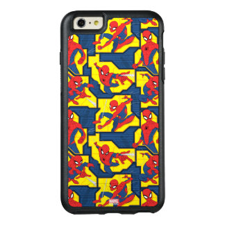 Spider-Man Web Slinging Panel Pattern OtterBox iPhone 6/6s Plus Case