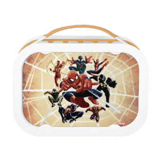 Spider-Man Web Warriors Attack Lunch Box