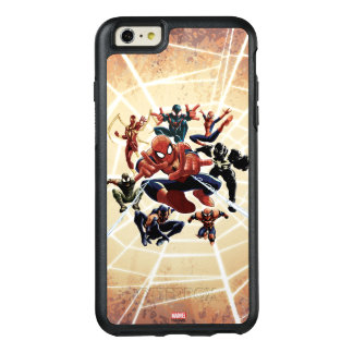 Spider-Man Web Warriors Attack OtterBox iPhone 6/6s Plus Case